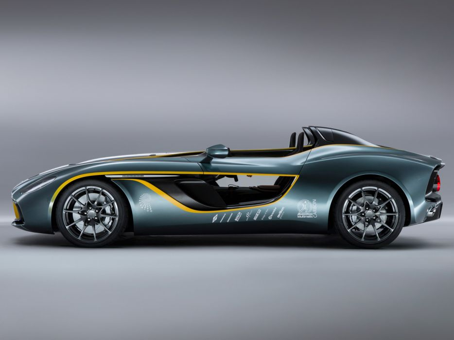 2013 Aston Martin CC100 Speedster Concept race racing supercar supercars      r wallpaper