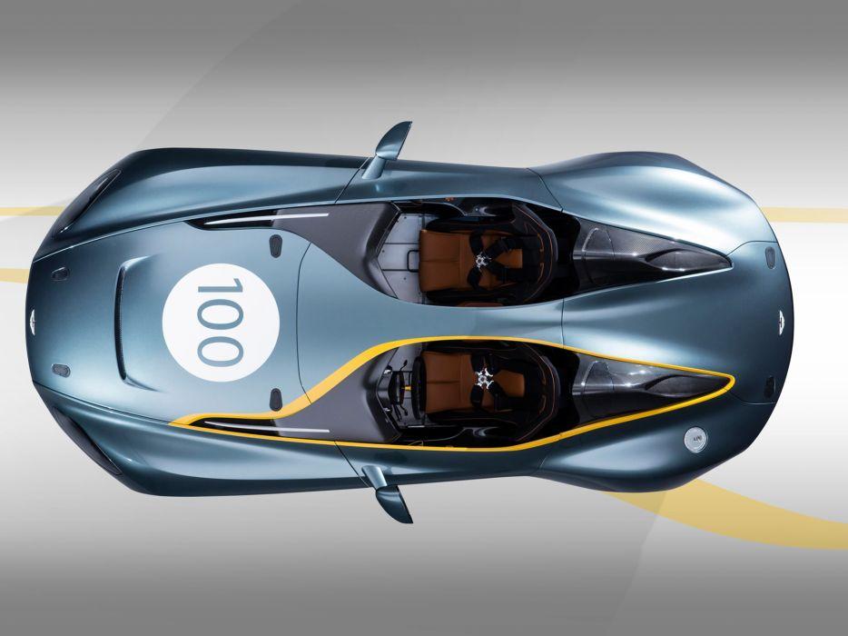 2013 Aston Martin CC100 Speedster Concept race racing supercar supercars interior       r wallpaper