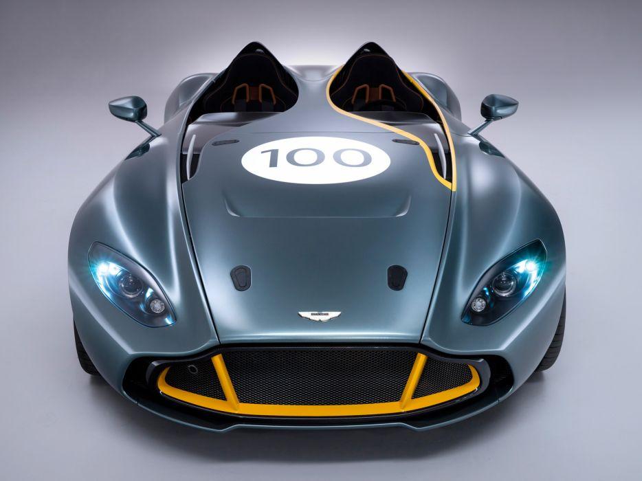 2013 Aston Martin CC100 Speedster Concept race racing supercar supercars wallpaper