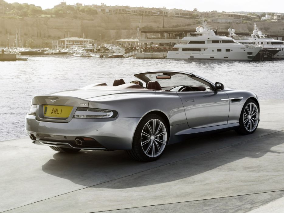 2013 Aston Martin DB9 Volante sportcar     g wallpaper