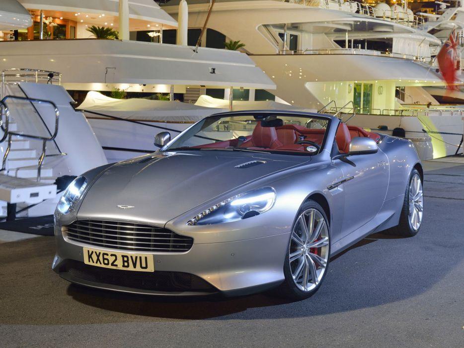 2013 Aston Martin DB9 Volante sportcar   h wallpaper