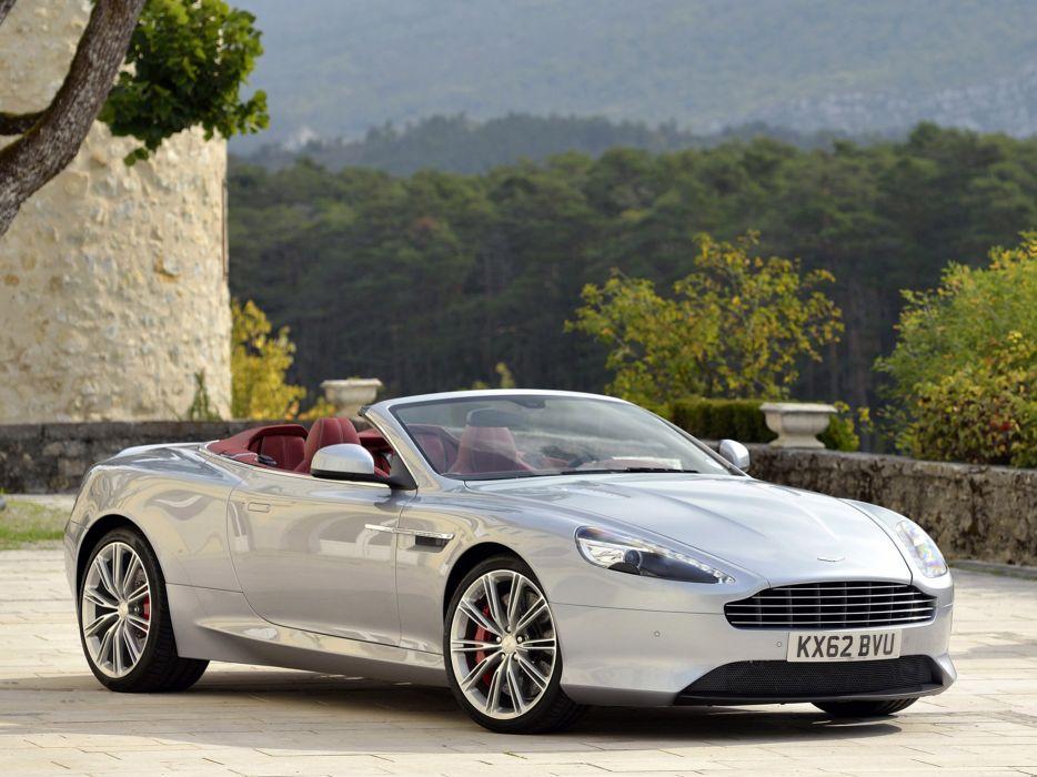 2013 Aston Martin DB9 Volante sportcar e wallpaper