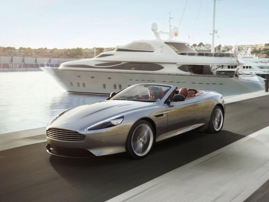 2013 Aston Martin DB9 Volante sportcar x wallpaper