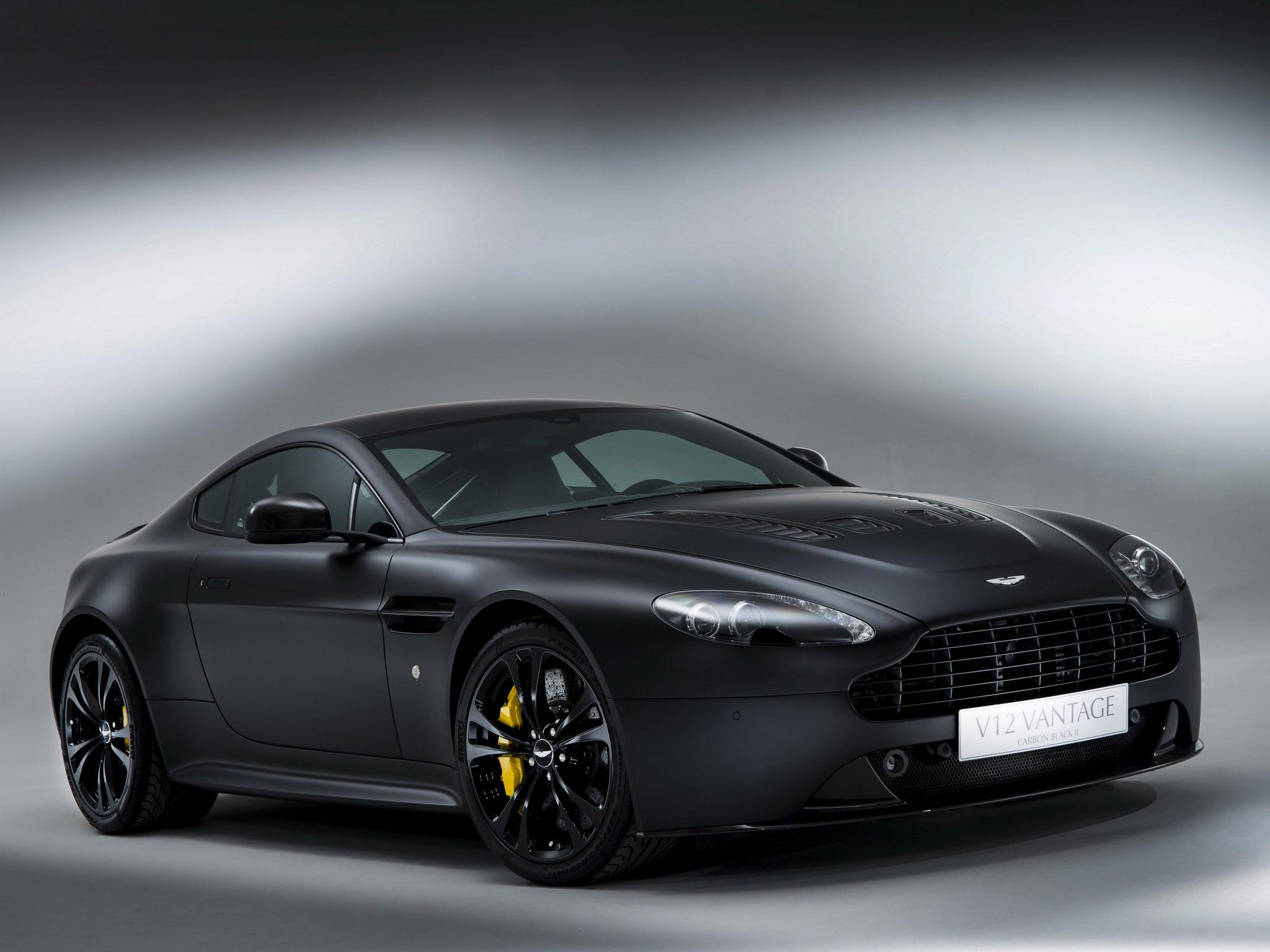 2013 aston martin v12 vantage carbon black sportcar wallpaper 2048x1536 104492 wallpaperup