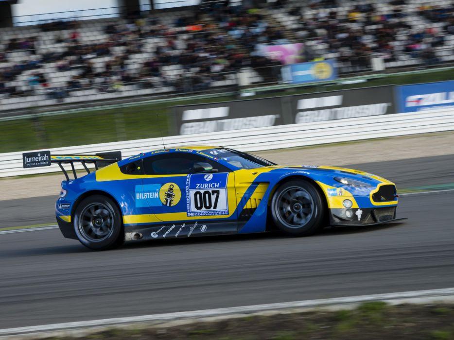 2013 Aston Martin V12 Vantage GT3 race racing  g wallpaper