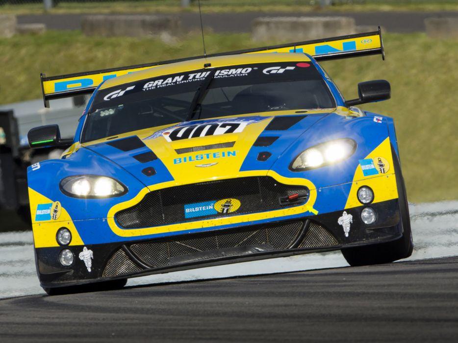 2013 Aston Martin V12 Vantage GT3 race racing wallpaper