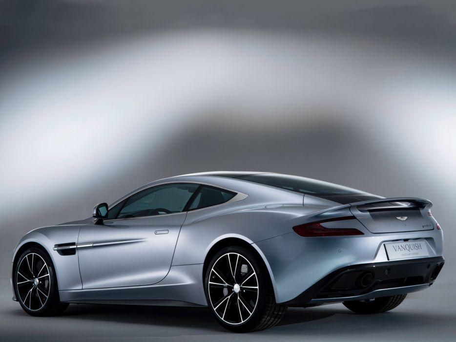 2013 Aston Martin Vanquish Centenary Edition sportcar   f wallpaper