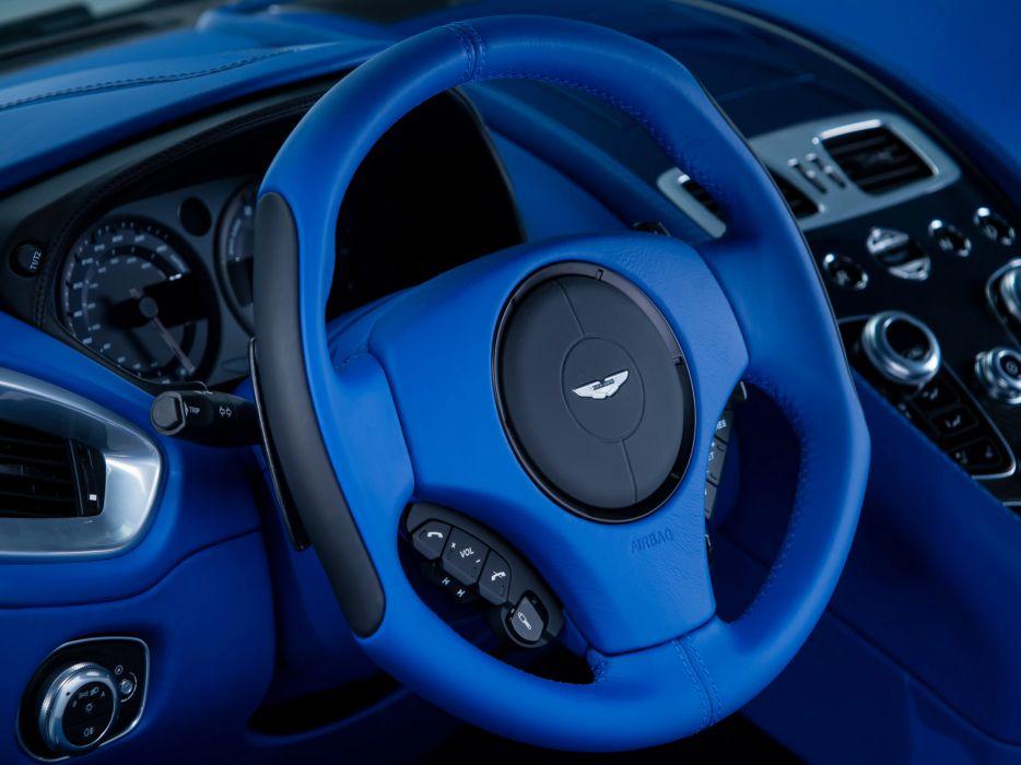 2013 Aston Martin Vanquish Q sportcar interior         d wallpaper