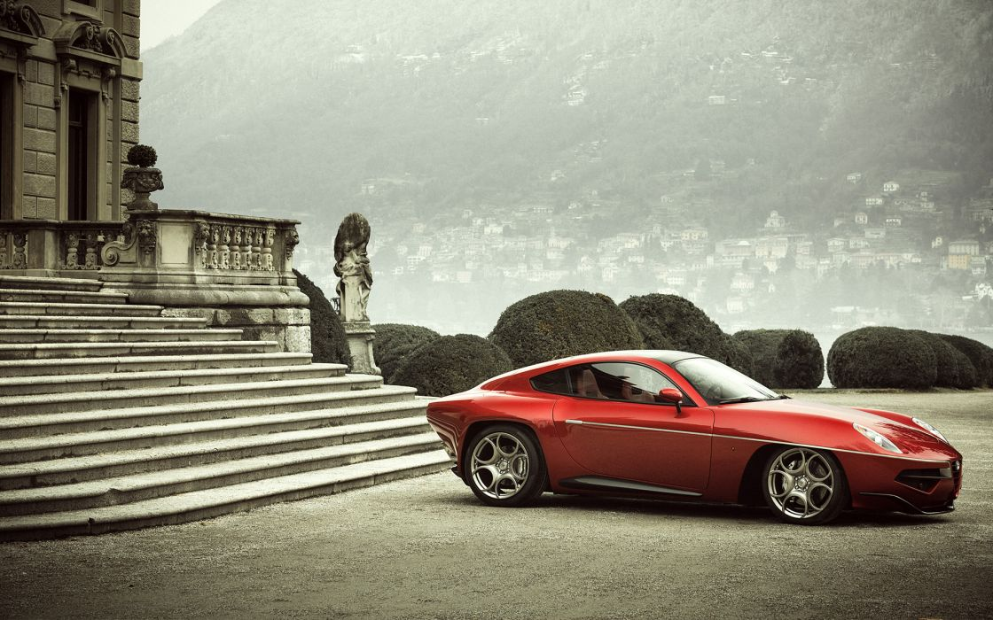 2013 Carrozzeria Touring Disco Volante supercar supercars d wallpaper