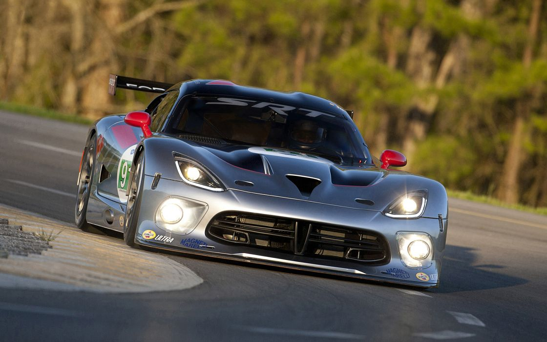 2013 Dodge SRT Viper GTS-R race racing supercar supercars        d wallpaper