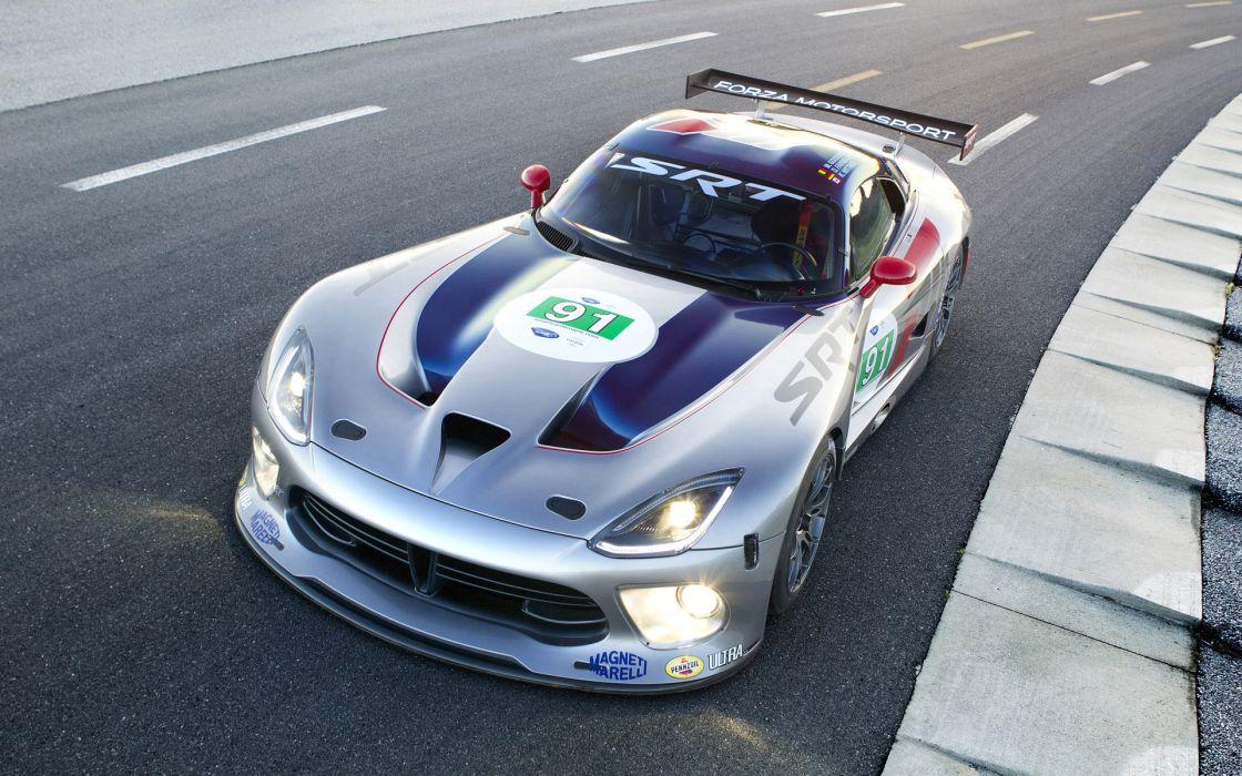 2013 Dodge SRT Viper GTS-R race racing supercar supercars   f wallpaper