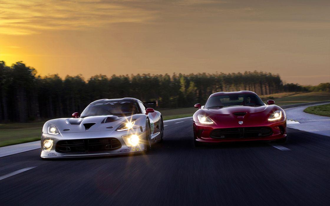 2013 Dodge SRT Viper GTS-R race racing supercar supercars wallpaper