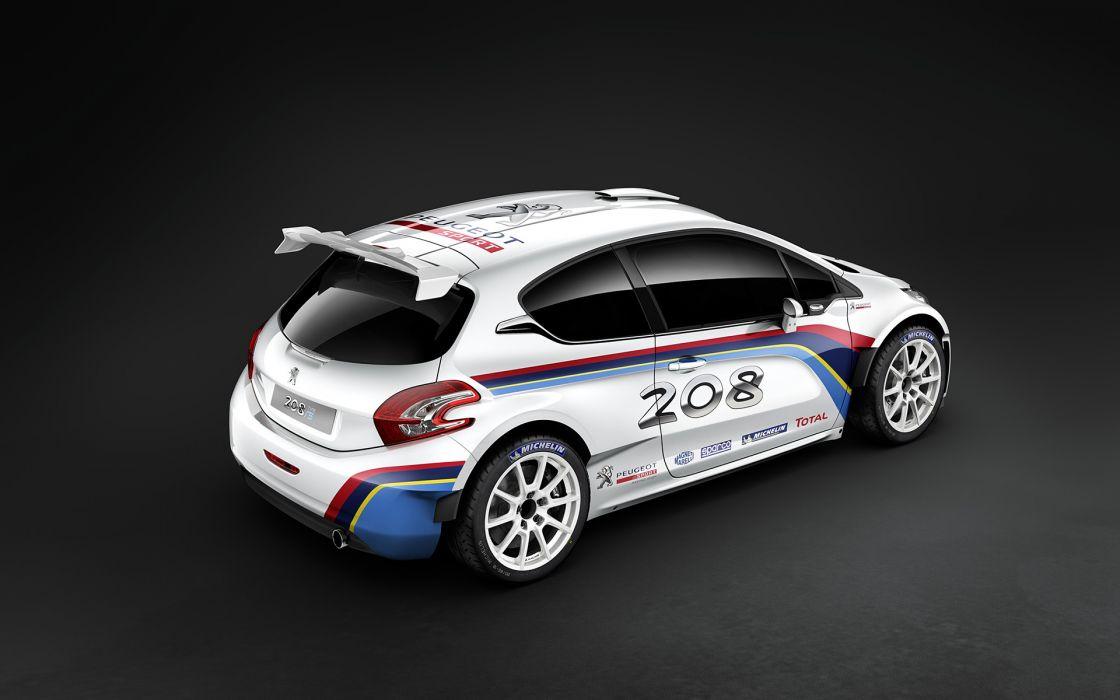 2013 Peugeot 208 R-5 Rally Car race racing     g wallpaper