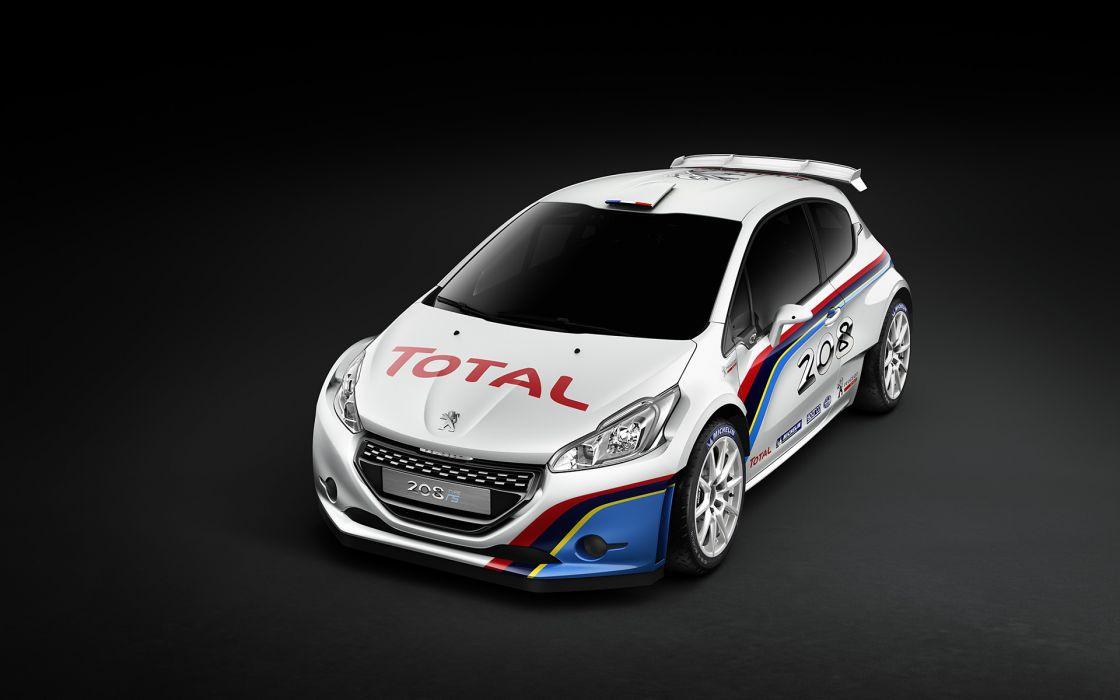 2013 Peugeot 208 R-5 Rally Car race racing wallpaper
