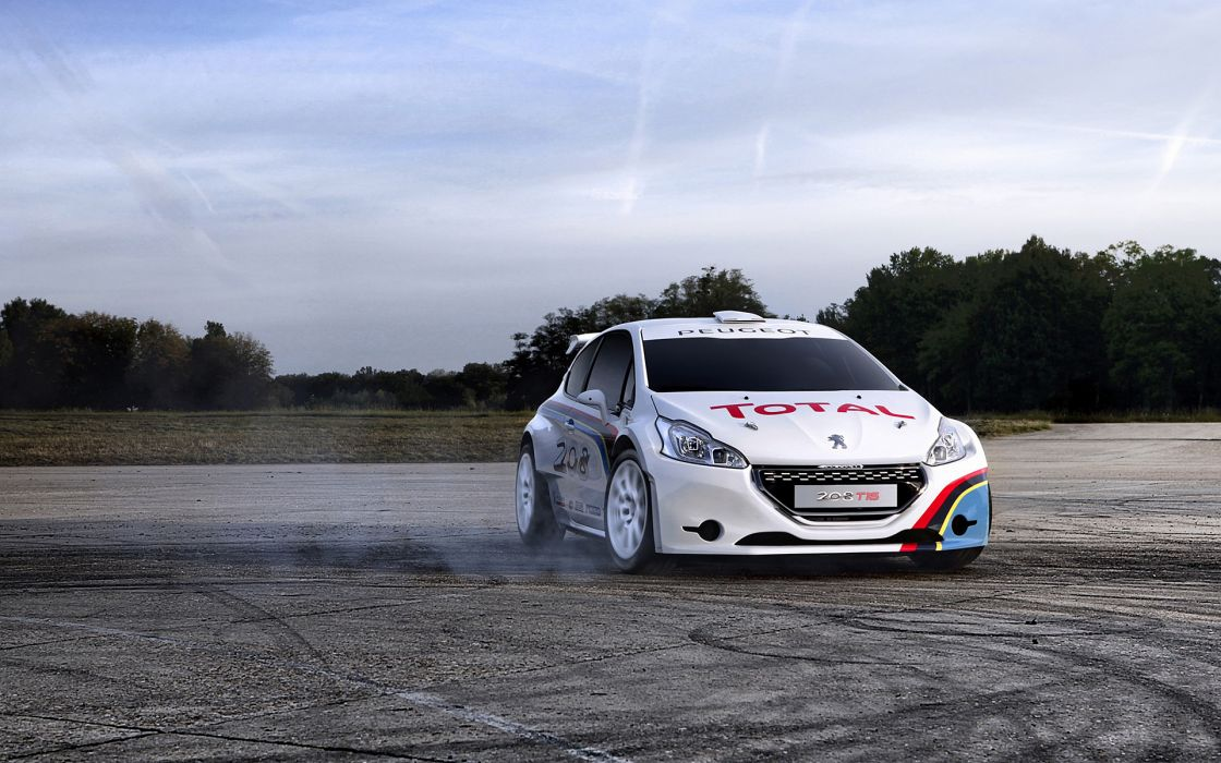 2013 Peugeot 208 T16 race racing   g wallpaper