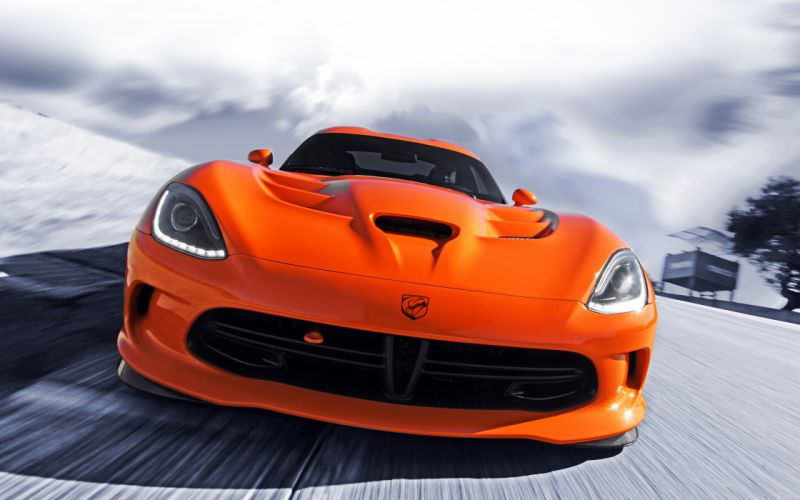 2014 Dodge SRT Viper T-A supercar supercars d wallpaper