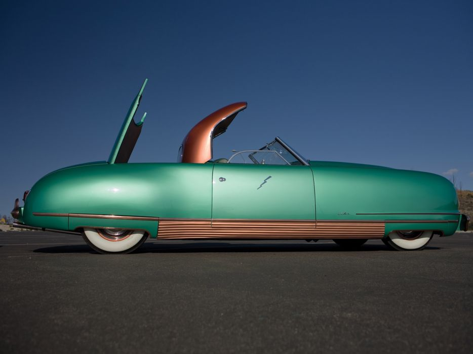 1940 Chrysler Thunderbolt Concept retro    f wallpaper