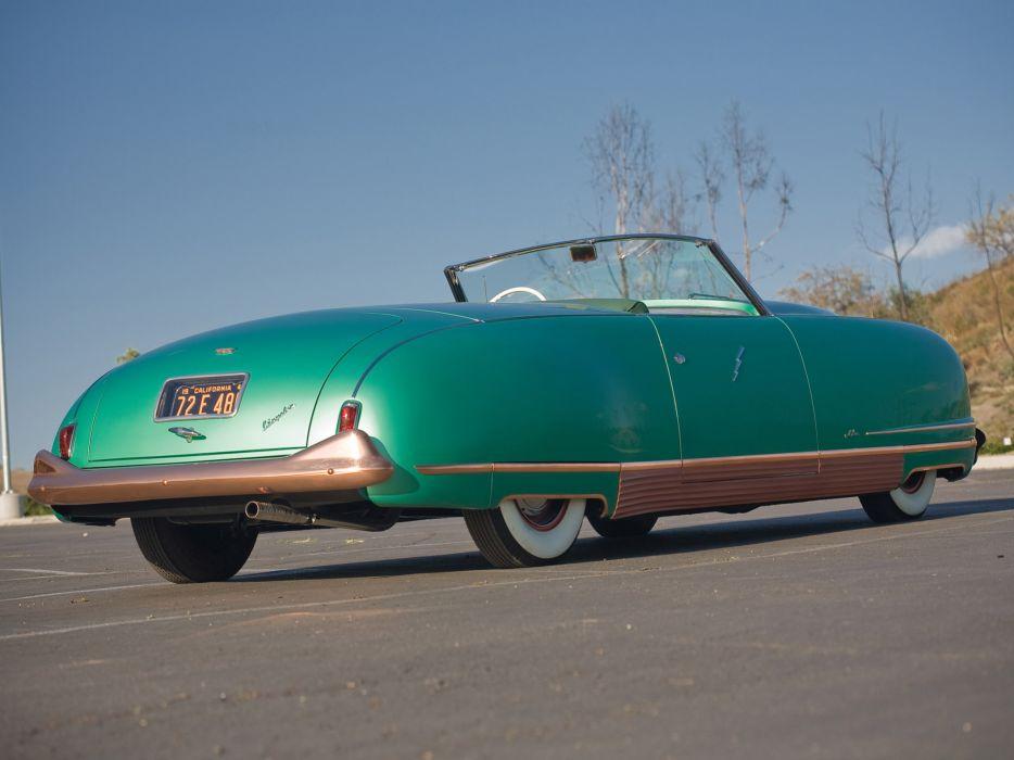1940 Chrysler Thunderbolt Concept retro   g wallpaper