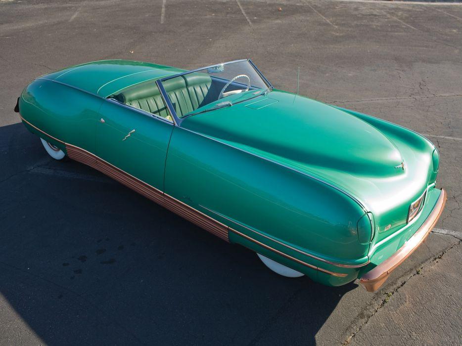 1940 Chrysler Thunderbolt Concept retro interior         d wallpaper