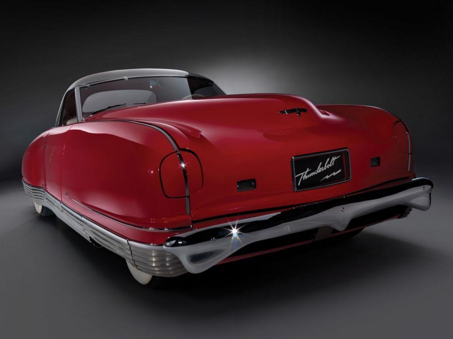 1940 Chrysler Thunderbolt Concept retro wallpaper