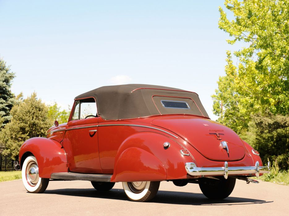 1940 Ford Deluxe Convertible Coupe retro  j wallpaper