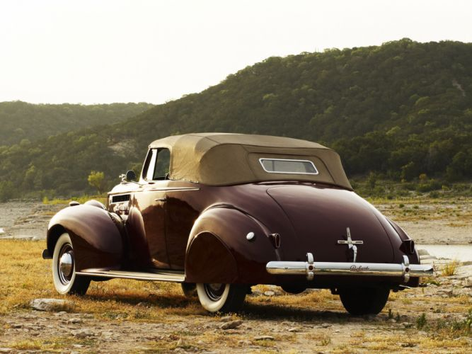 1940 Packard 120 Convertible Coupe retro w wallpaper