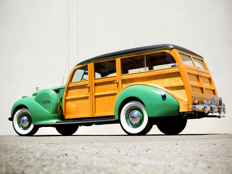 1940 Packard 120 StationWagon retro f wallpaper
