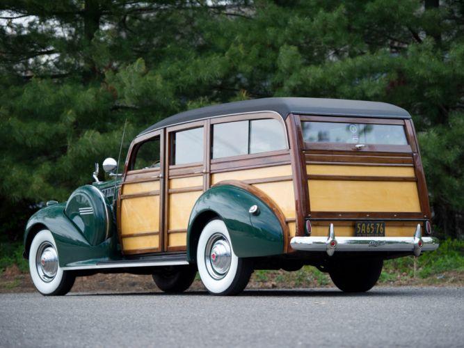1940 Packard 160 Super Eight StationWagon retro g wallpaper