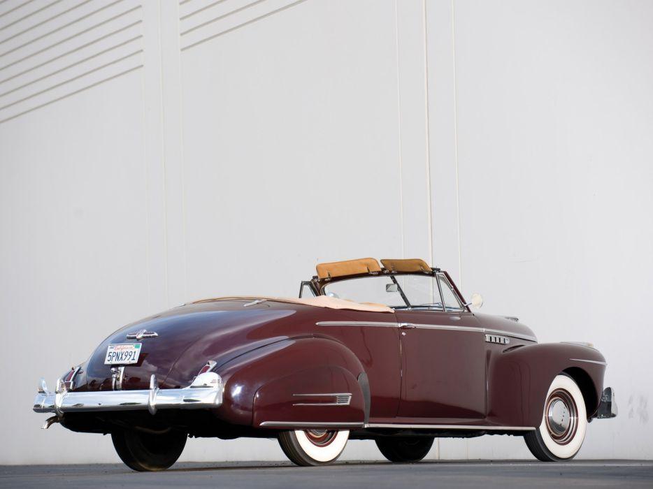 1941 Buick Super Convertible 56C retro q wallpaper