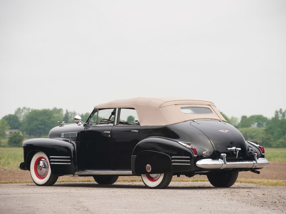 1941 Cadillac Sixty-Two Convertible retro luxury q wallpaper