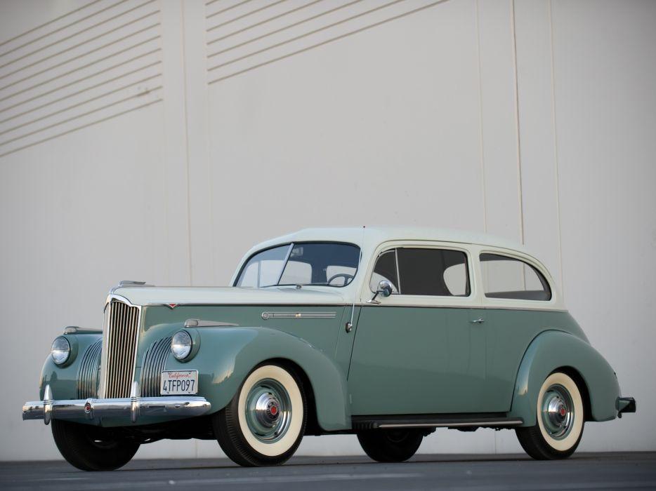 1941 Packard 110 2 door Touring Sedan retro wallpaper