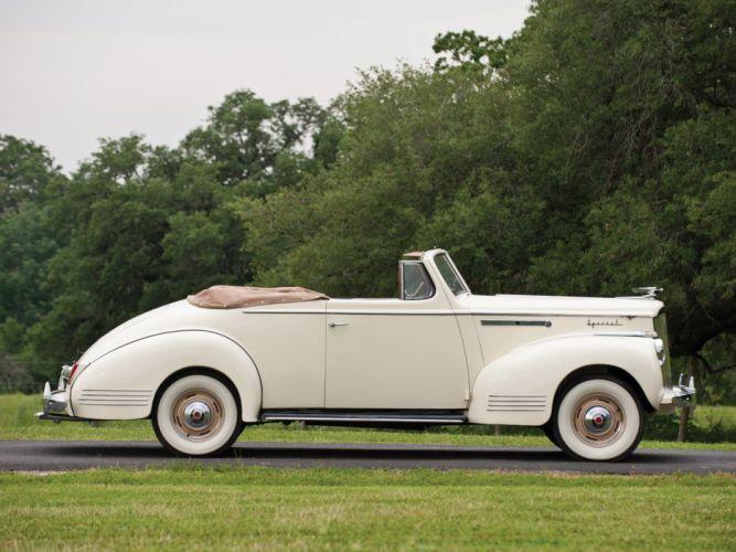 1941 Packard 110 Deluxe Convertible retro luxury f wallpaper