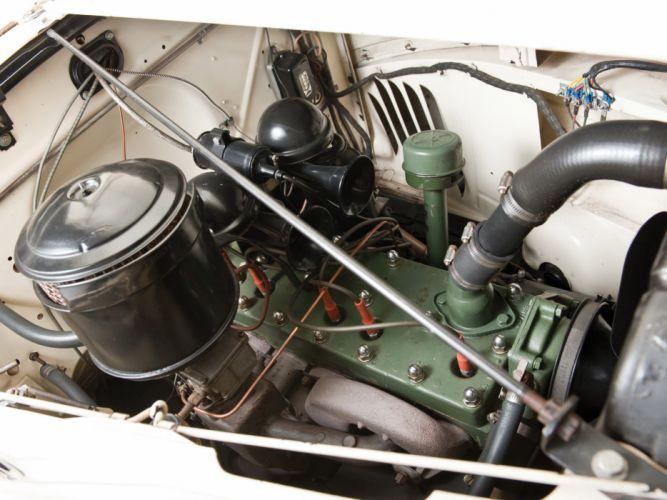 1941 Packard 110 Deluxe Convertible retro luxury engine engines wallpaper