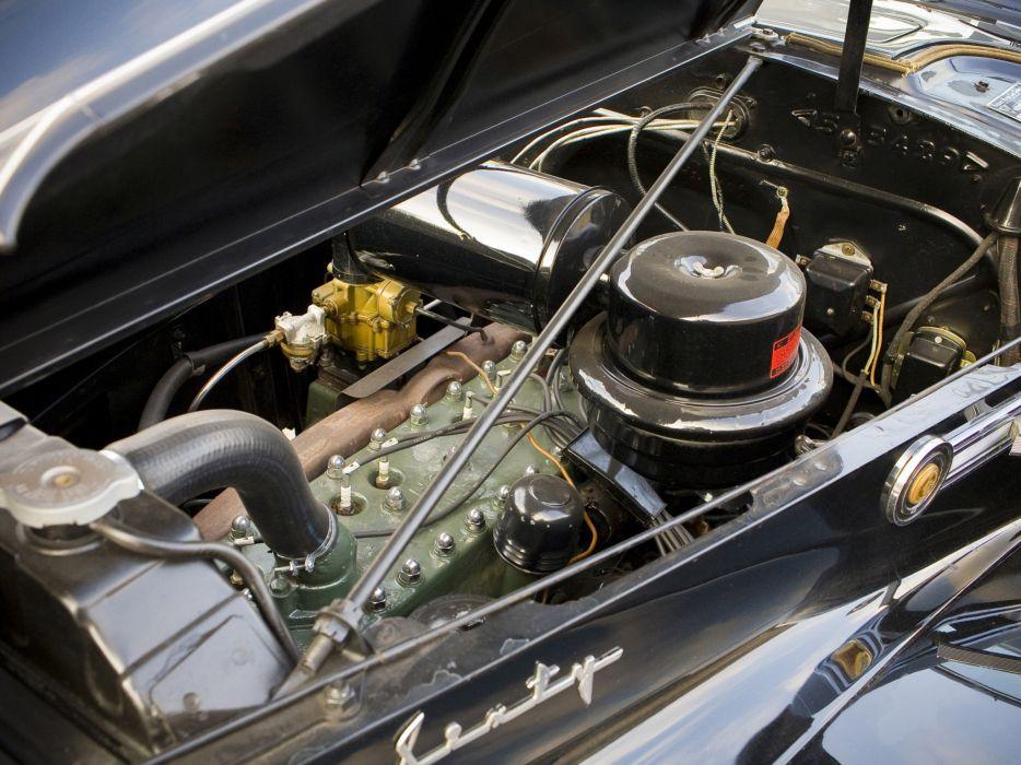 1941 Packard 160 Super Eight Town Car luxury retro engine engines wallpaper