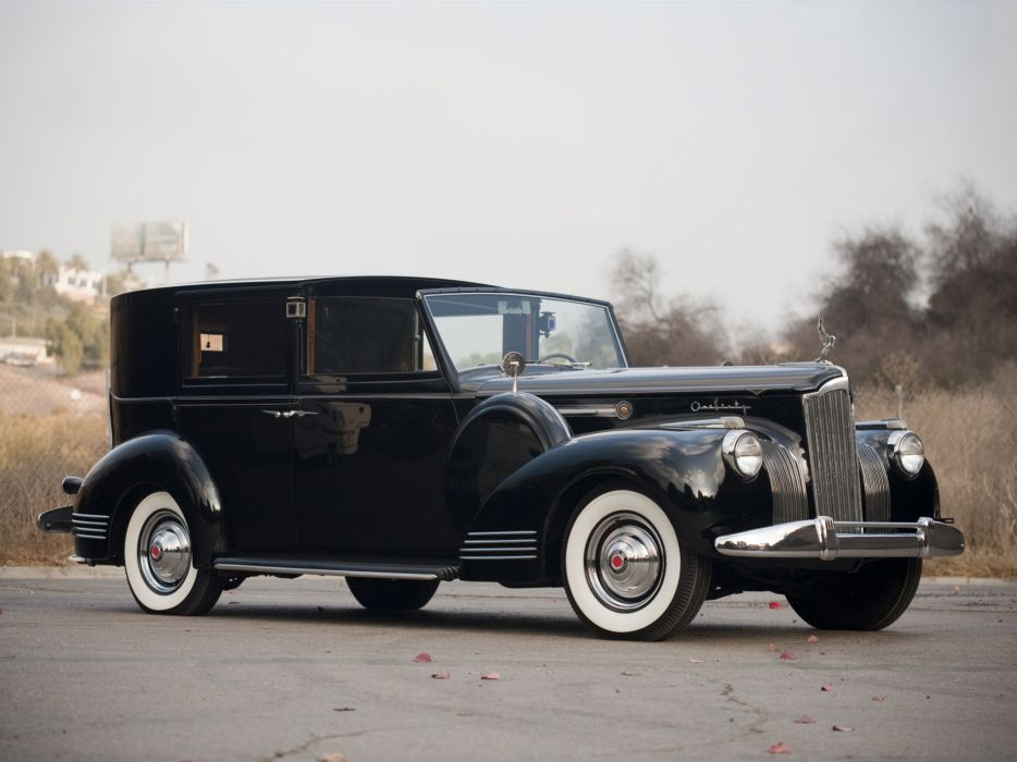 1941 Packard 160 Super Eight Town Car luxury retro wallpaper