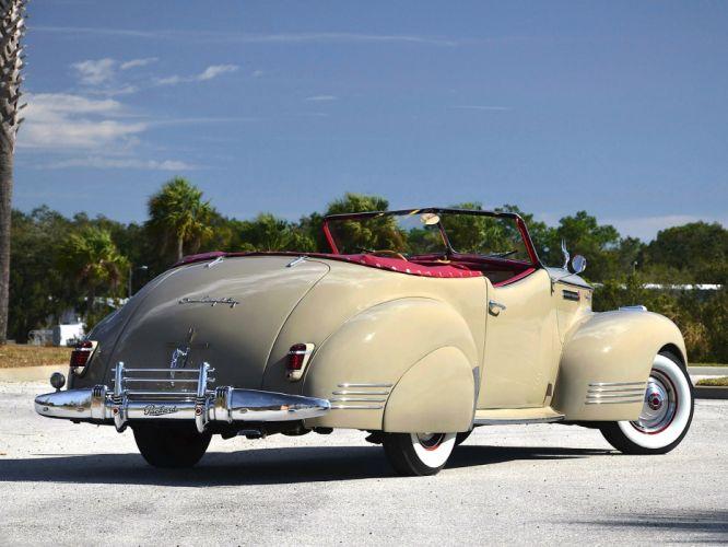 1941 Packard 180 Super Eight Convertible Victoria luxury retro g wallpaper
