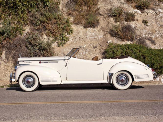 1941 Packard 180 Super Eight Convertible Victoria luxury retro gd wallpaper