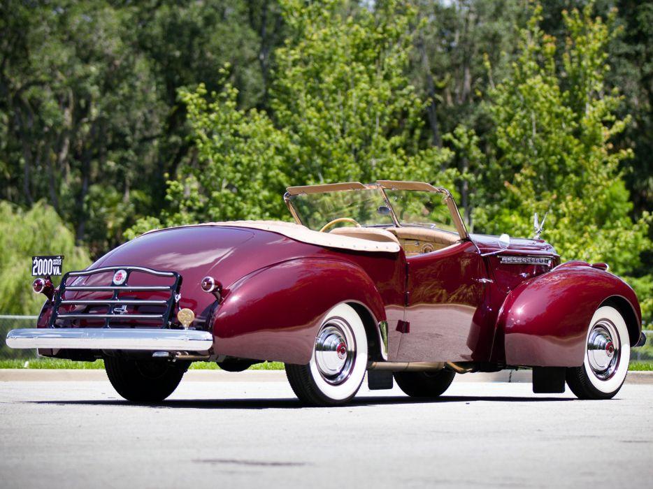 1941 Packard 180 Super Eight Convertible Victoria luxury retro   n wallpaper