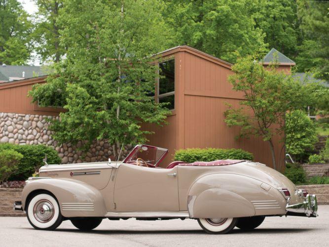 1941 Packard 180 Super Eight Convertible Victoria luxury retro q wallpaper