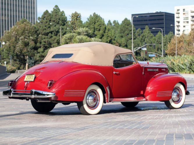 1941 Packard 180 Super Eight Convertible Victoria luxury retro r wallpaper