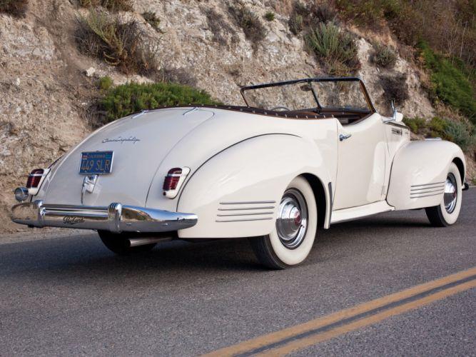 1941 Packard 180 Super Eight Convertible Victoria luxury retro y wallpaper