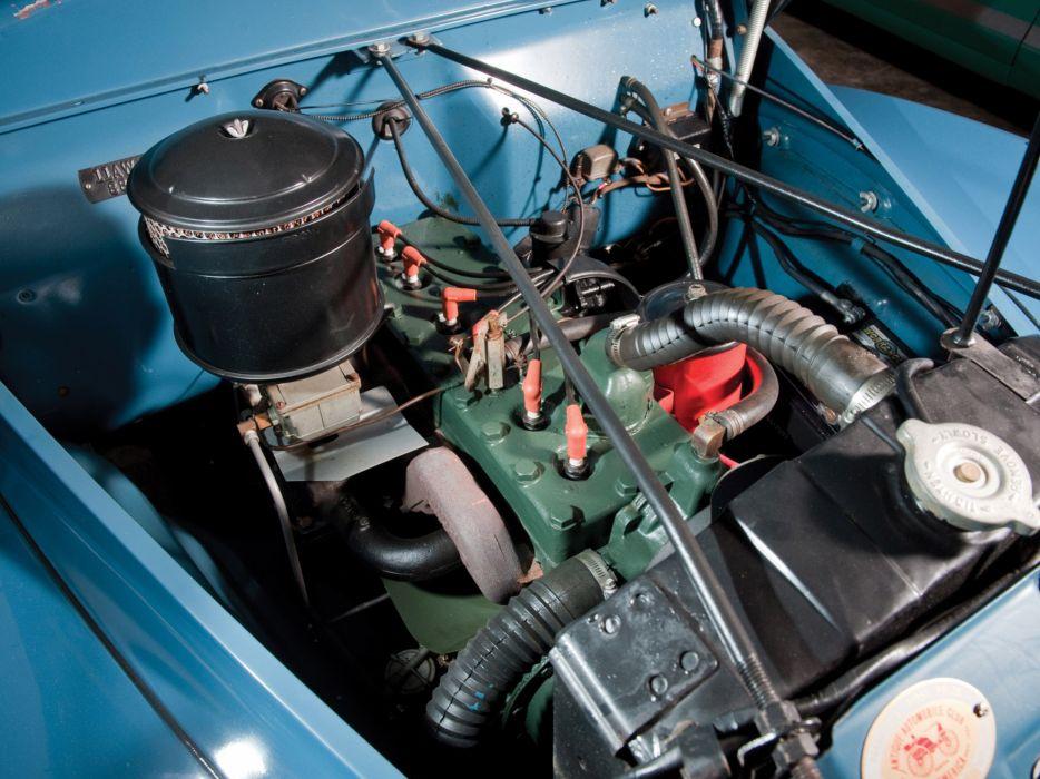 1941 Studebaker Commander Cruising Sedan retro engine engines wallpaper