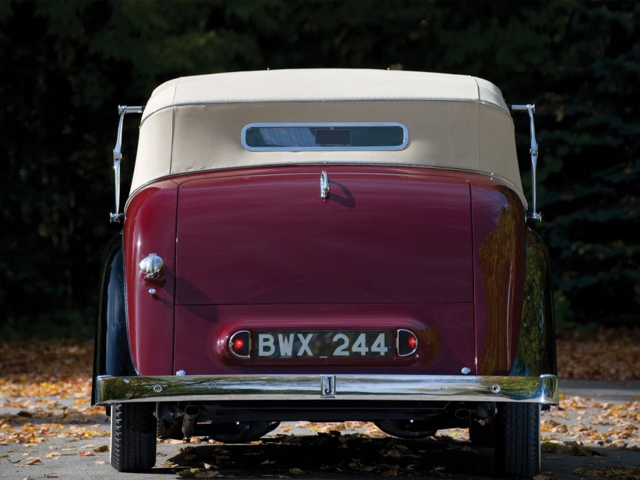 1945 Jaguar Mark IV Drophead Coupe retro luxury g wallpaper