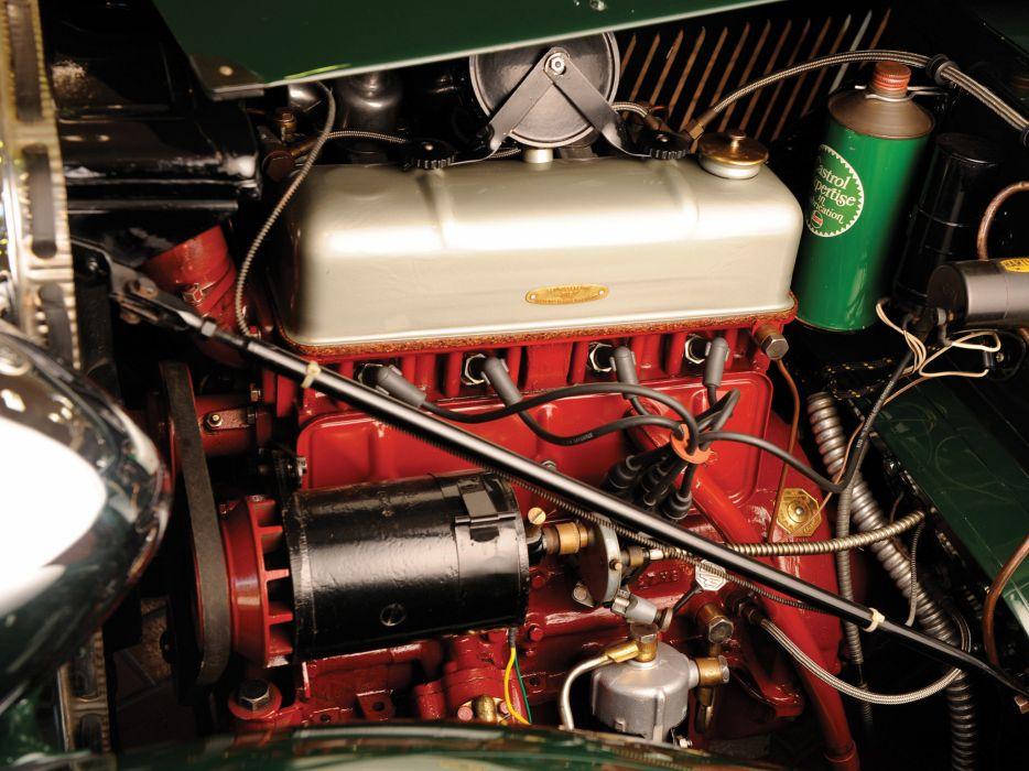 1945 MG TC retro m-g engine engines wallpaper