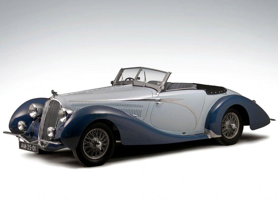 1946 Delahaye 135 M Cabriolet retro wallpaper