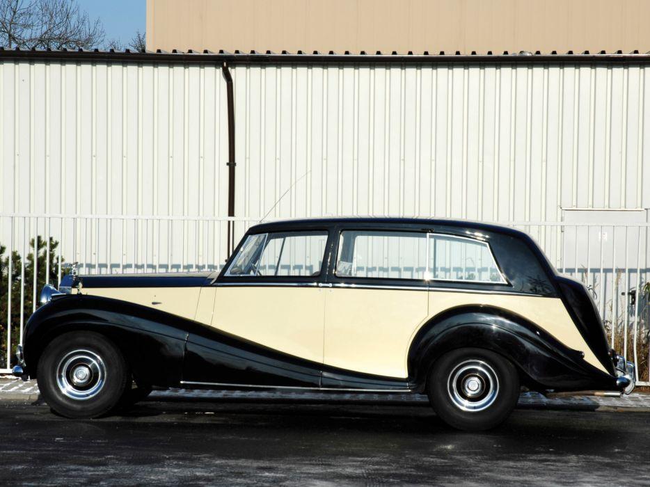 1946 Rolls Royce Wraith Touring Limousine retro luxury      d wallpaper