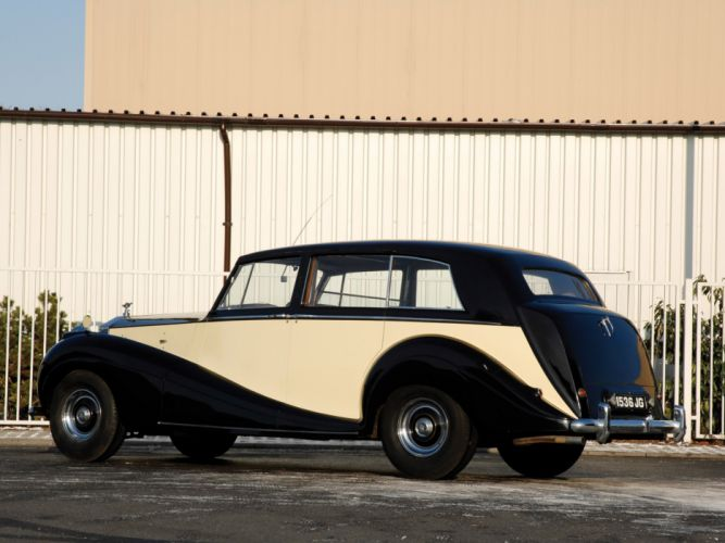 1946 Rolls Royce Wraith Touring Limousine retro luxury f wallpaper
