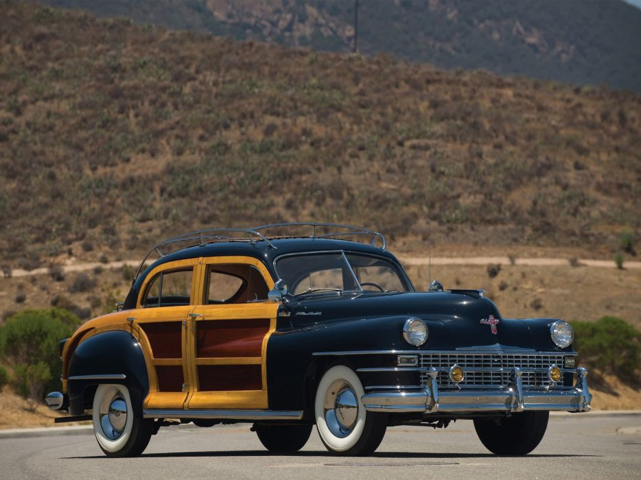 1947 Chrysler Town & Country retro wallpaper