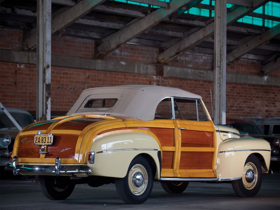 1947 Ford Super Deluxe Sportsman Convertible retro    gd wallpaper