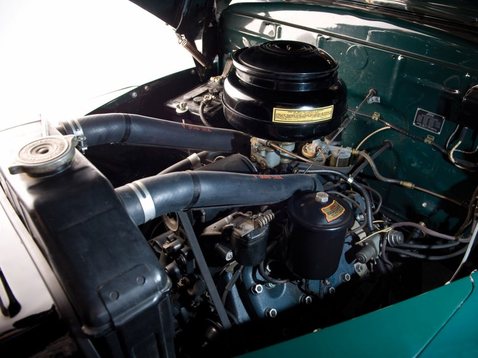 1947 Ford Super Deluxe StationWagon retro engine engines wallpaper